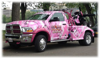 Our Pink Truck