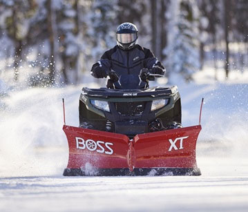 BOSS ATV Plows