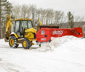 BOSS Backhoe Plows