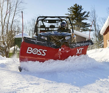 BOSS Full-Size UTV Plows