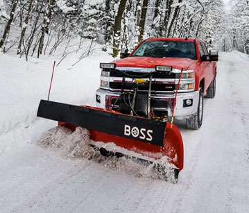 BOSS Heavy-Duty Plows