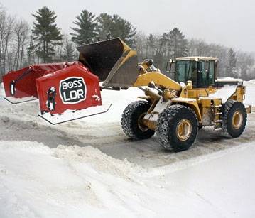 BOSS Loader Plows