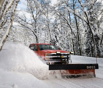 BOSS Standard-Duty Plows