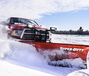 BOSS Super-Duty Plows