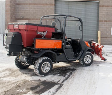 BOSS UTV V-Box Spreaders